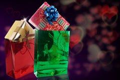 Подарочные коробки Стоковые Изображения RF