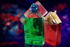 Подарочные коробки. Стоковые Фотографии RF