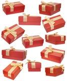 12 подарочных коробок Стоковое Изображение
