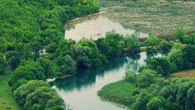 Подача реки Krka Стоковые Изображения