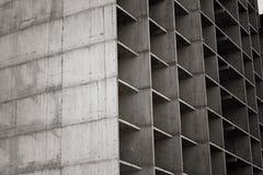 Пола здания нижней конструкции многоэтажного стоковые фотографии rf