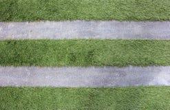 Пола травы и цементов Стоковые Фотографии RF
