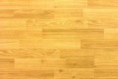 Пол баскетбольной площадки клена твёрдой древесины осмотренный сверху Стоковые Фото