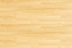 Пол баскетбольной площадки клена твёрдой древесины осмотренный сверху Стоковое Фото