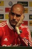 Подбадривающий Guardiola Стоковое фото RF