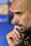 Подбадривающий Guardiola стоковые фотографии rf