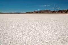 Пол беговой дорожки в национальном парке Death Valley, Калифорнии Стоковая Фотография RF