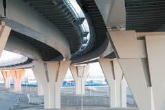 подбетонки моста стоковое фото