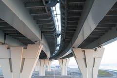 подбетонки моста стоковое изображение rf