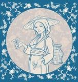 Подборщик чая Стоковые Изображения RF