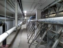 Подвал бассейна Стоковая Фотография RF