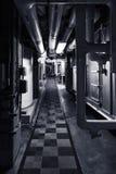 Подвал с трубами Стоковые Изображения RF