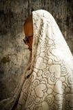 Подвижник виска Mahabodhi, Bodh Gaya, Индии Стоковые Изображения