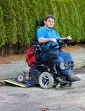 Подвижность для ребячьих пациентов церебрального паралича Стоковые Изображения