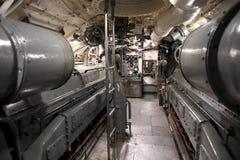 Подводная лодка USS Silvesides военно-морского флота Соединенных Штатов стоковая фотография rf