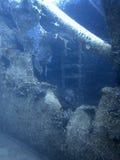 подводная развалина Подводное кораблекрушение Стоковое Изображение RF