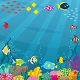 подводно иллюстрация штока
