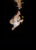 Подводный цветок стоковая фотография rf