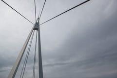 под водой подвеса в сентябре дня моста шлюпок славной Стоковое Фото