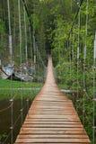 под водой подвеса в сентябре дня моста шлюпок славной Стоковые Изображения RF