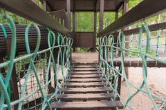 под водой подвеса в сентябре дня моста шлюпок славной Стоковая Фотография