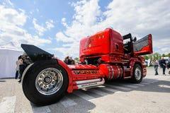 Подгонянная тележка Scania R999 стоковые фото