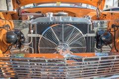 Подгонянный показанный двигатель автомобиля мышцы Стоковые Изображения