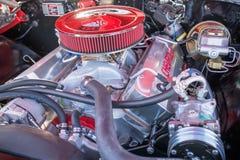 Подгонянный показанный двигатель автомобиля мышцы Стоковое Изображение