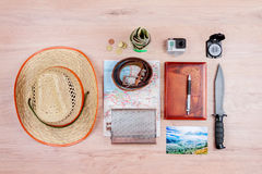 Подготавливайте на летние отпуска Стоковое фото RF