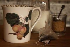 Подготавливайте для пакетика чая Стоковые Изображения