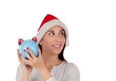 Подготавливайте для расходов рождества Стоковое Фото