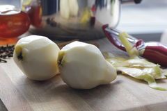 Подготавливать груши для красть Стоковое фото RF