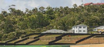 Подготавливать землю для конструкции, Окленд, Новая Зеландия Стоковые Фото