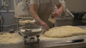 Подготавливать пиццу 11 сток-видео