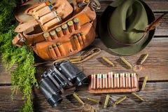 Подготавливать для охоты в коттедже forester Стоковое Изображение RF