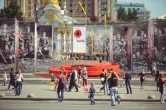 Подготовка на День памяти погибших в войнах стоковое изображение rf