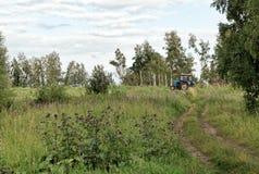 Подготовка почвы для засева Стоковое Изображение RF