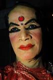 подготовка kathakali танцульки Стоковое Изображение RF