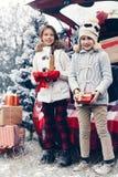 Подготовки рождества Стоковые Изображения