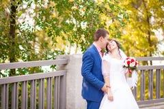 Подготовки для wedding жениха и невеста в лете Стоковая Фотография RF