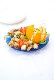 подготовленная еда тарелки Стоковые Изображения RF