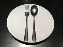 Подготовьте обедающий Стоковые Фотографии RF