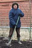 Подготовьте почву для засаживать Стоковое Изображение RF