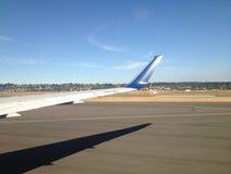 Подготовьте самолет Стоковые Фотографии RF