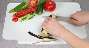 подготовлять еды Стоковое Фото