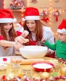 подготовлять семьи рождества счастливый Стоковое Фото