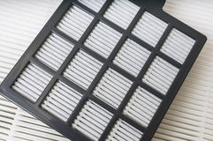 Подготовляя фильтры фильтрации воздуха Стоковые Изображения RF