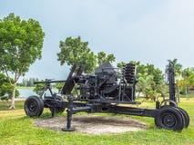 Полевая пушка артиллерии Стоковые Изображения
