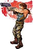 Полевой солдат Стоковые Фото