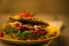 Полезная еда для совершенной диаграммы Стоковая Фотография RF